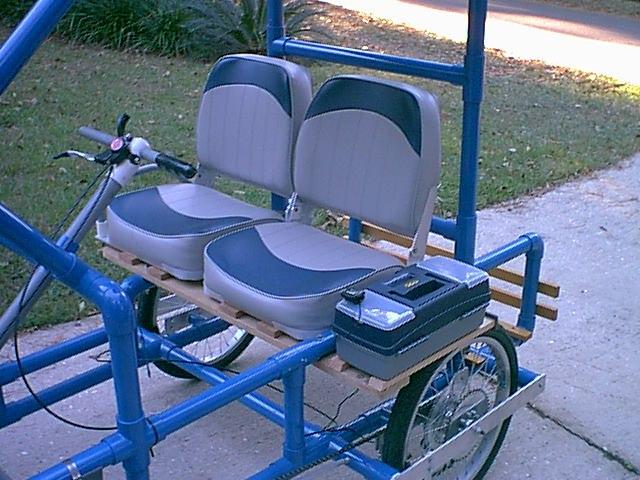 Pedal Car Plans Four Wheel Bike Plans