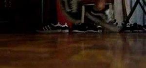 Do a c-walk reverse heel toe