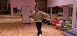 Do the pique turns ballet dance move
