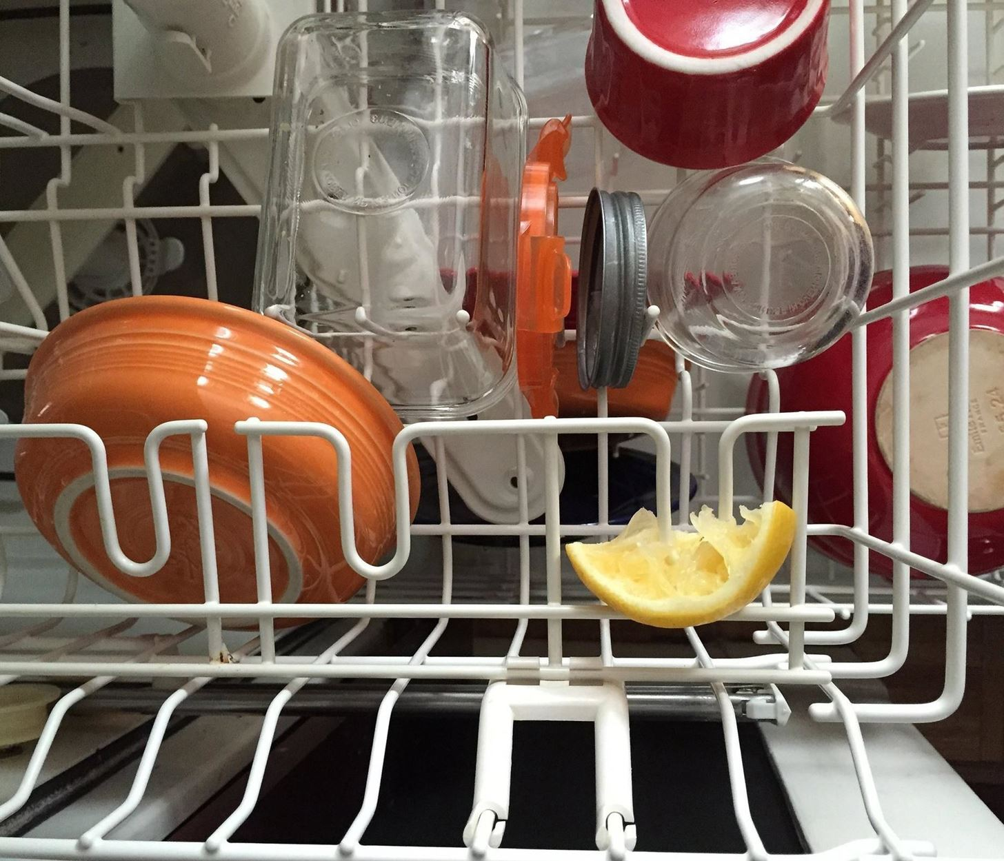Trust Us… Use a Lemon Peel When Loading the Dishwasher