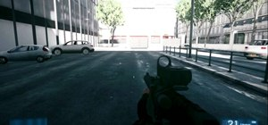 Sprint and run fast in Battlefield 3
