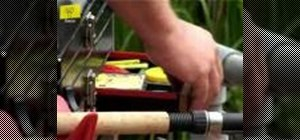 Set up your fishing tackle