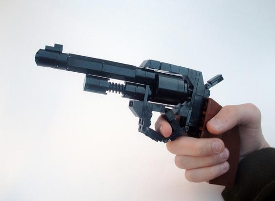 Lego Gun Instructions Easy