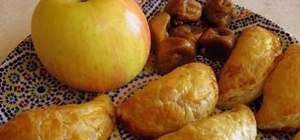 Make Moroccan sweet pastries with apples and figs