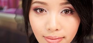 "Create a ""romantic blush"" Valentine's Day makeup look"