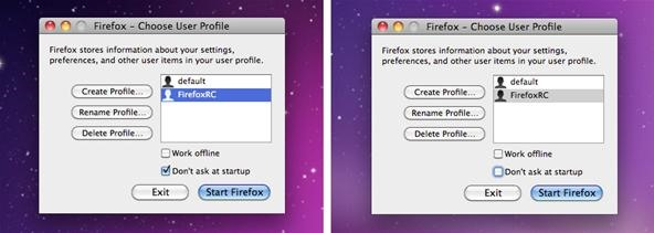 How to Run Firefox 4 and 3 Simultaneously in Mac OS X with Multiple Firefox Profiles