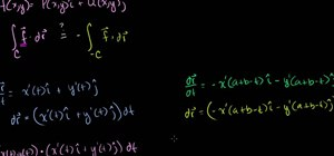 Solve vector field integrals in calculus