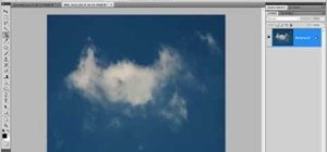 Make an awesome cloud brush in Photoshop CS4