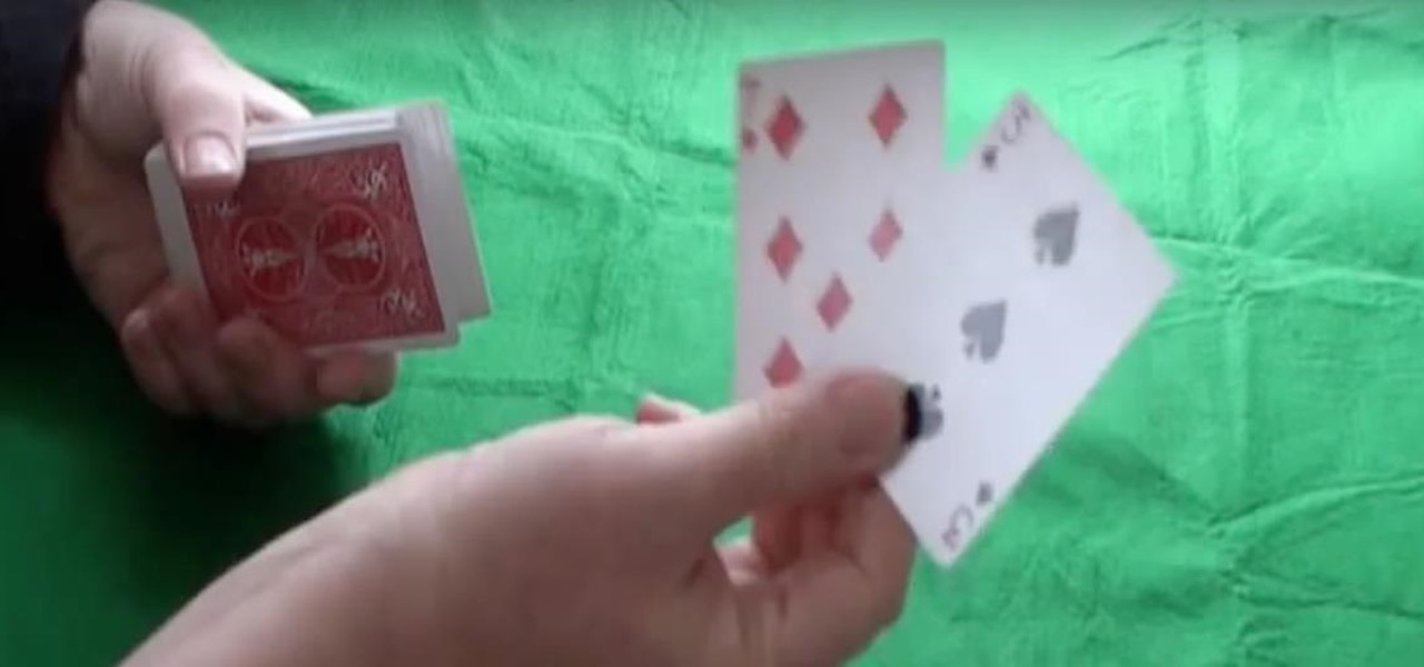 Perform a Cool Magician Magic Card Snatch Trick