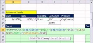 Filter and extract records with multiple criteria in Microsoft Excel 2010
