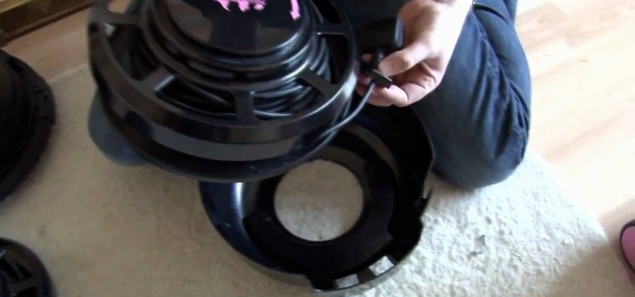 How To Replace The Cable And Reel On A Hetty Or Henry