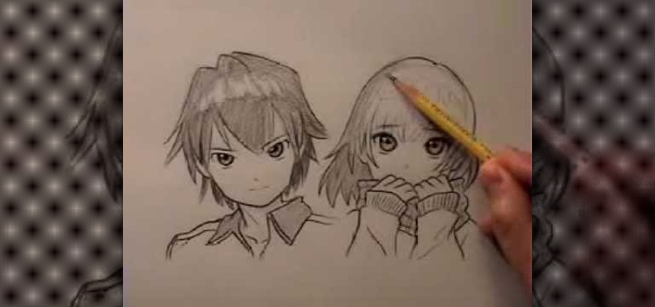 How to draw anime manga hair drawing illustration wonderhowto
