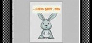 Draw a cartoon rabbit