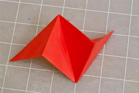 How to Make an Origami Singlesheet Cube  Instructables