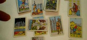 Perform a Tarot Card reading using the Celtic Cross Spread
