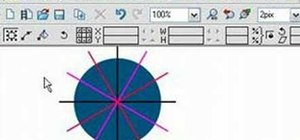 Split a circle into segments in Xara Xtreme
