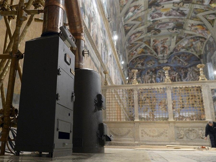 The Vatican's Hidden Steampunk Treasure Inside the Sistine Chapel