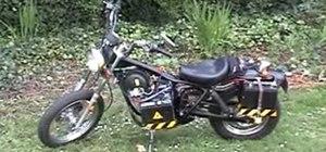 Create an electric powered Honda Rebel motorcycle