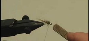 Tie a Gold Ribbed Hare's Ear for fly fishing