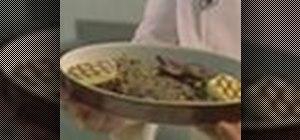 Prepare foie de veau a la venetian or veal liver