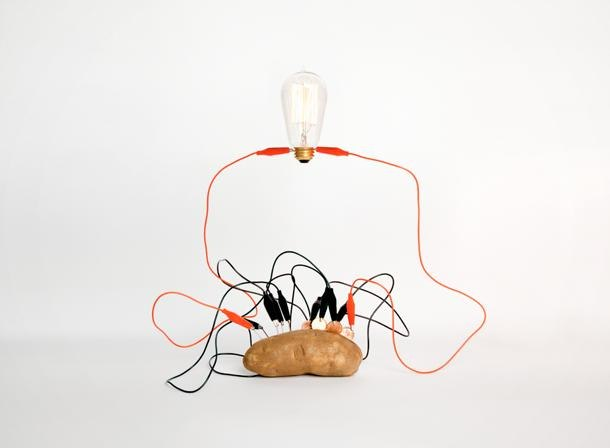 Light Bulb Potato Experiment Related Keywords & Suggestions ...:Electrical Energy Potato Pennies Galvanized Nails Wire Bulb,Lighting