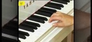 Prepare to play piano