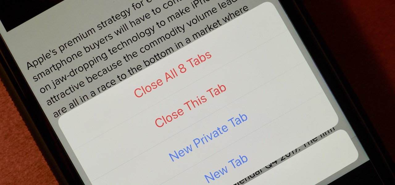 Safari 101: How to Close All Your Open Tabs at the Same Time