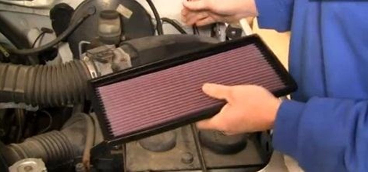 How To Replace The Engine Air Filter In A 1987 96 Ford F150 F250