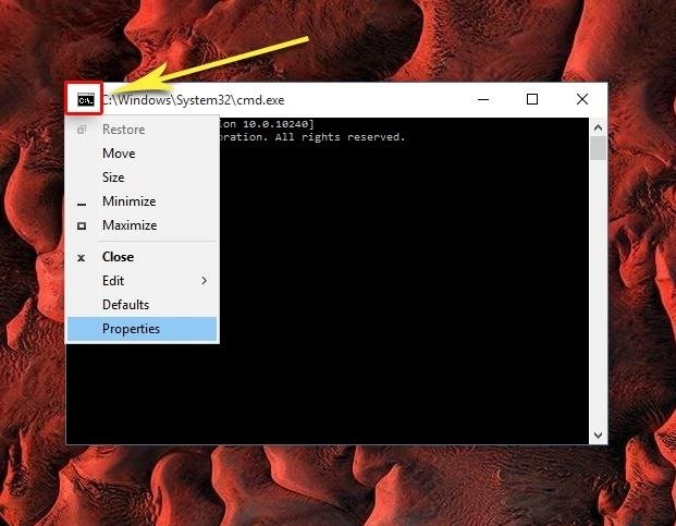 how to get a command prompt in windows 10