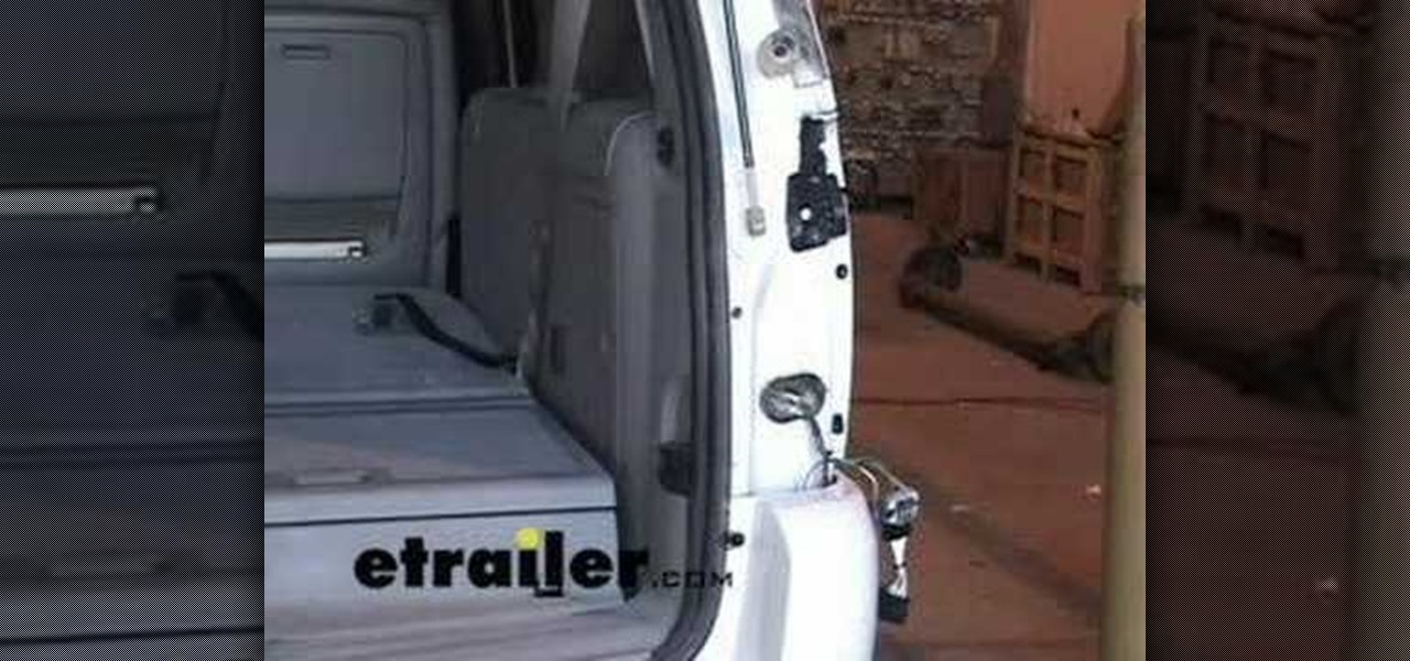 How To Install Trailer Wiring Harness In A Chevy Uplander