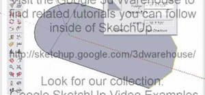 Use the arc tool in Google SketchUp