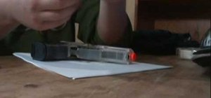 Make an airsoft gun holster