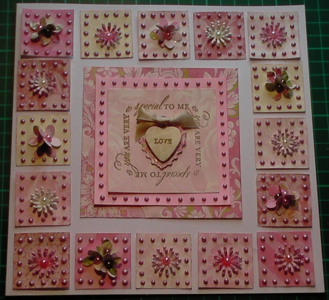 How to Make a Patchwork Scraps Special Card