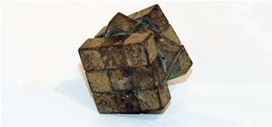 Artist Makes Rubik's Cube Using Bronze (and Pee)