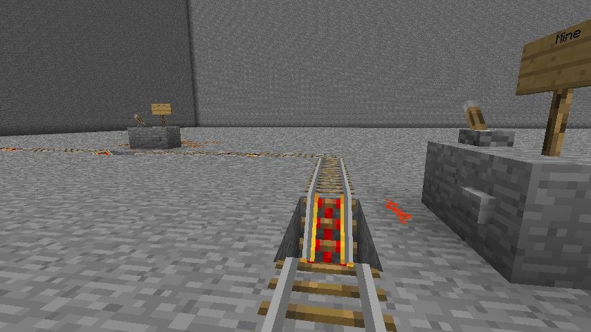 How to Create a Minecart Train Station in Minecraft