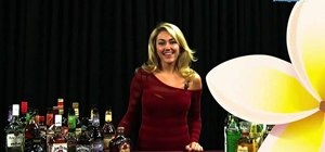 Make a bubbly red sex shooter with vodka, peach schnapps & grenadine