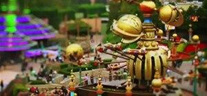 Disneyland Paris - Swing Tilt Madness