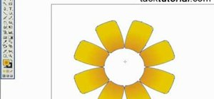 Create a cartoon flower in Illustrator
