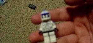 Make a Clone Sargent Denal custom Lego minifigure