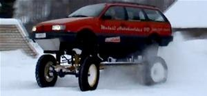 I Want One. VW Passat Mini-Monster Truck