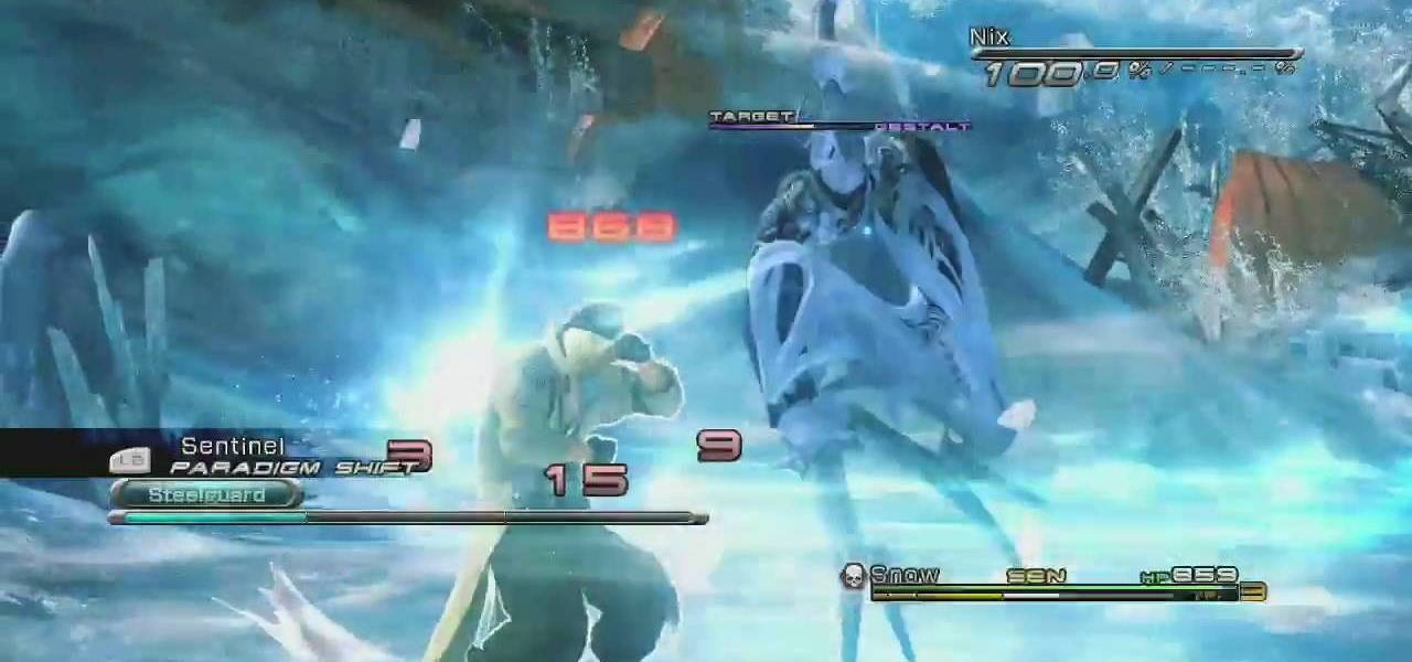 How to Properly level up characters in Final Fantasy XIII