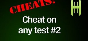 Cheat on tests with a hacked pen