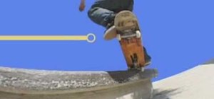 Do frontside crooked grinds on the skateboard
