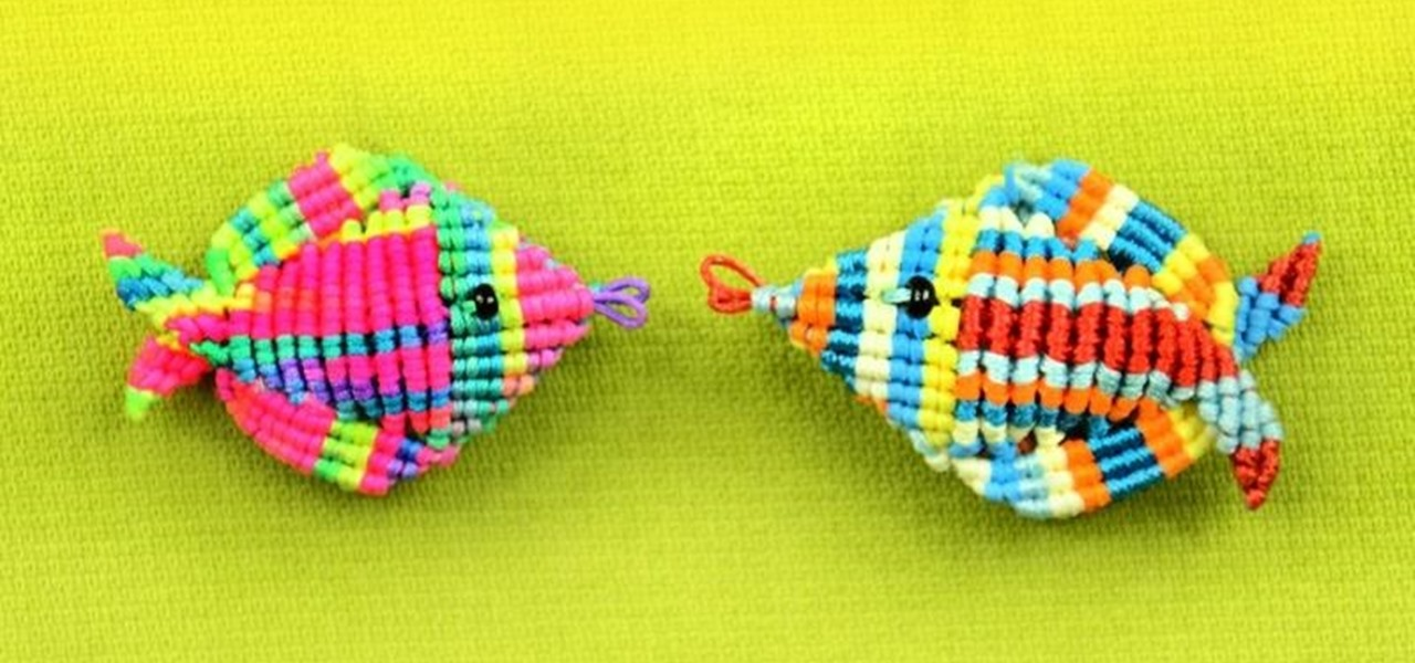 3D Macrame Fish Tutorial