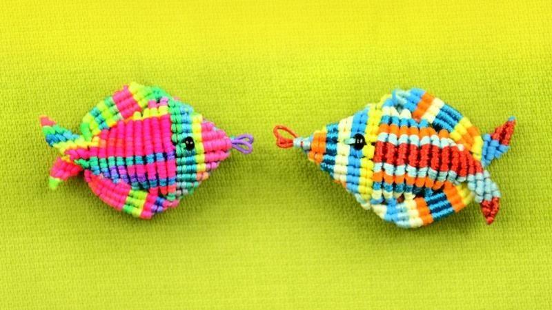 3D Macrame Fish Tutorial