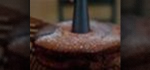Bake lemon chiffon cake