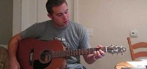 """Play """"Face Down"""" by Red Jumpsuit Apparatus on guitar"""