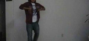 Do the basics of pop and lock street dance