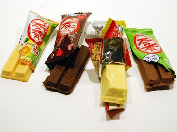 Japan's Totally Wacky Kit-Kat Flavors