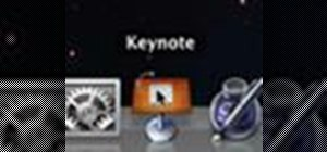 Get started using Keynote '09